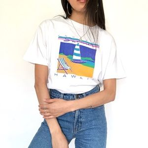 Vintage 80s Endless Summer Hawaii T- Shirt